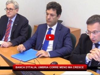 Perugia, Banca d'Italia, l'Umbria corre meno ma cresce