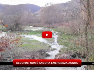 Crisi idrica, Assessore Cecchini, non è ancora emergenza acqua