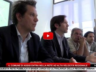 Il Comune di Assisi entra nella rete ad alta velocità regionale