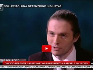 Omicidio Meredith, Cassazione, no risarcimento a Raffaele Sollecito