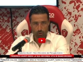 Perugia calcio, comincia l'era di Federico Giunti, sarà il nuovo allenatore