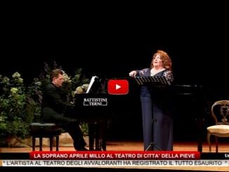 La Soprano Aprile Millo al Teatro di Città della Pieve