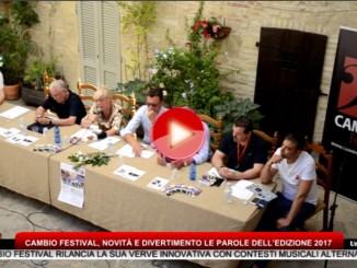 Cambio Festival, novità e divertimento le parole dell'edizione 2017