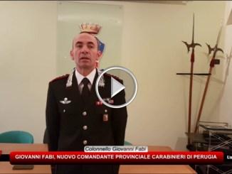 Carabinieri di Perugia, ColonnelloGiovanni Fabi è il nuovo comandante provinciale