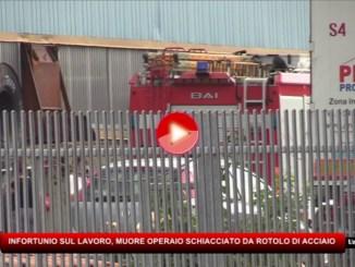 Incidente mortale sul lavoro a Valfabbrica, operaio schiacciato da rotolo di acciaio