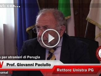 15 minuti con...Giovanni Paciullo, il rettore dell'Università per stranieri di Perugia
