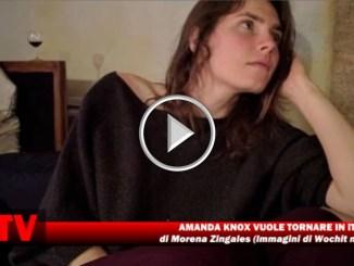 Meredith, Amanda Knox vorrebbe tornate a Perugia