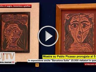 Castiglione del Lago, la mostra di Picasso prorogata al 5 novembre