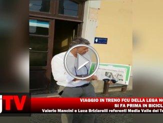 Treno FCU viaggio della Lega Nord, si fa prima in bicicletta