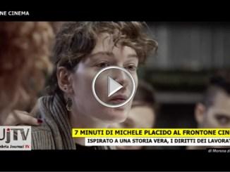 7 minuti di Michele Placido, al Frontone Cinema all'aperto VIDEO