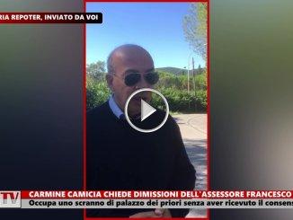 Carmine Camicia chiede dimissioni dell'assessore Francesco Calabrese