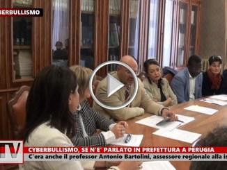 Cyberbullismo nelle scuola, oggi se n'è parlato a Perugia, video intervista con Antonio Bartolini