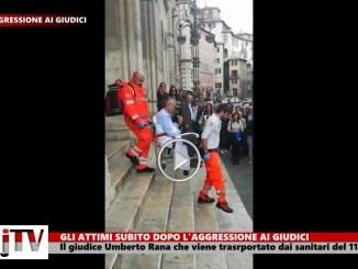 Giudici aggrediti con coltello a Perugia, quindici giorni di prognosi