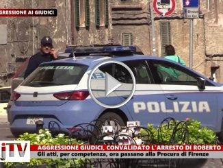 Aggressione giudici, convalidato l'arresto di Roberto Ferracci