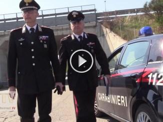 Ladro smascherato da telecamere ad Assisi, denunciato dai Carabinieri
