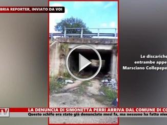 Degrado a Collazzone lungo la E45, Simonetta Perri, per Umbria Reporter, il suo video