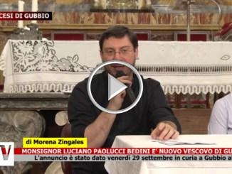 Monsignor Luciano Paolucci Bedini è nuovo vescovo di Gubbio