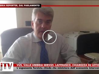 Vus, Valle Umbria Servizi, Laffranco (Fi), urge chiarezza su affidamenti
