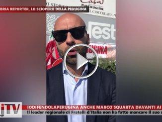 Anche Marco Squarta, Fratelli d'Italia, invia il suo video iodifendolaperugina