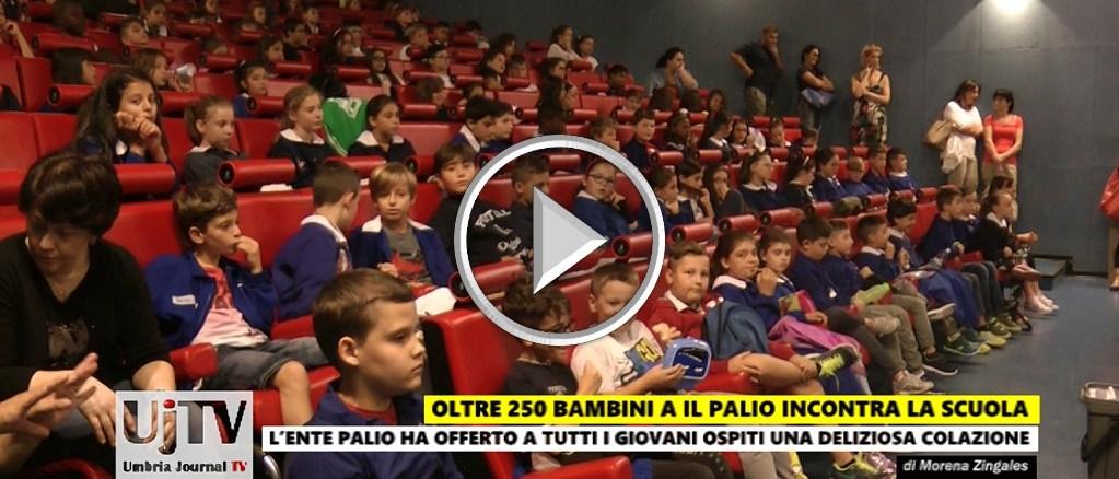 Palio de San Michele incontra con entusiasmo la scuola