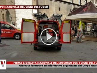 Prima Giornata nazionale del soccorso, con i Vigili del fuoco a Perugia