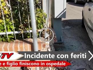 Incidente con feriti a Ponte San Giovanni in ospedale madre e figlio