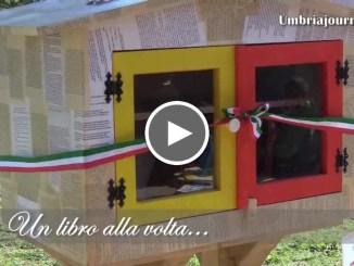 Un libro alla volta...a Bastia Umbra la prima Little Free Library