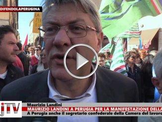 Maurizio Landini, Cgil su Vertenza Perugina, incentivare uso contratti solidarietà