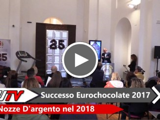 Eurochocolate 2017 in crescita, nel 2018 saranno nozze d'argento