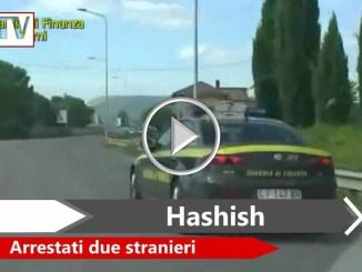 Sequestrati a Terni oltre quattro chili di hashish, due persone arrestate