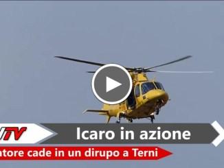 Cacciatore cade nel dirupo a Terni, ricoverato in rianimazione