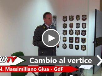 Guardia di Finanza Terni, Colonnello Massimiliano Giua si è presentato alla stampa