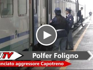 Senza biglietto sul treno e picchia controllore, denunciato da Polfer Foligno