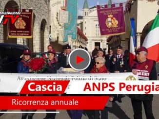 Associazione Nazionale della Polizia di Stato, a Cascia la ricorrenza annuale