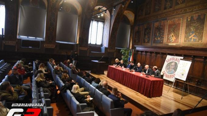 Leo Cenci a Palazzo dei Priori sala dei Notari 2017 (2)