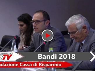 Al via i contributi della Fondazione Cassa di Risparmio di Perugia