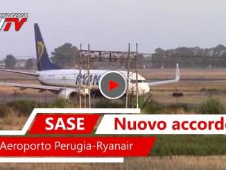 Nuova rotta da e per Francoforte, rinnovato accordo Ryanairaeroporto Perugia