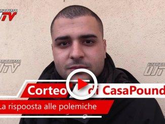 Video intervista con Antonio Ribecco responsabile CasaPound Perugia, la replica alle accuse
