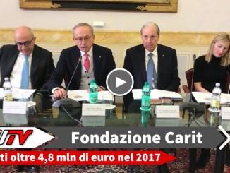 Fondazione Carit, nel 2017 assegnati oltre 4,8 mln di euro. Il 18 gennaio a Norcia verrà presentato un bando specifico per le aree colpite dal sisma