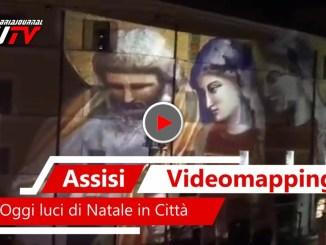 Video mapping a Natale ad Assisi, nuova frontiera dell'arte e tecnologia