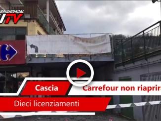 Carrefour non riaprirà a Cascia, ecco perché guarda le immagini video