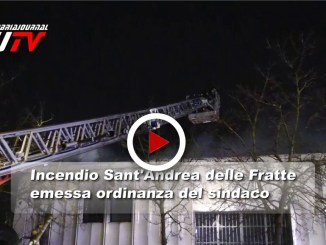 Incendio a Sant'andrea delle Fratte, emessa l'ordinanza del sindaco, il video
