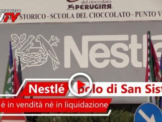 Perugina non è in crisi, ma in trasformazione, la nota di Nestlè il video