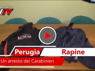 Armato di pistola rapina farmacia e pasticceria, arrestato dai Carabinieri a Corciano