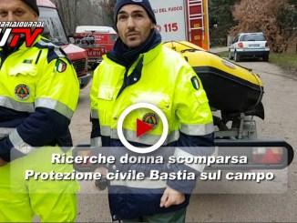 Ricerche della signora Marietta, intervista video vicecoordinatore protezione civile Bastia Umbra