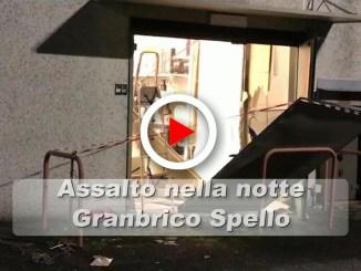 Esplosione nella notte a Spello, fatta saltare cassa continua del Granbrico