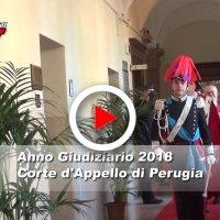 Inaugurazione a Perugia dell'Anno giudiziario 2018 della Corte d'Appello, il video