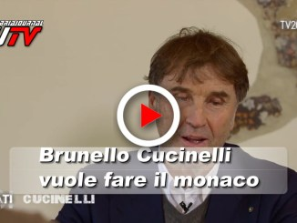 Brunello Cucinelli vuol fare il monaco part time, il video