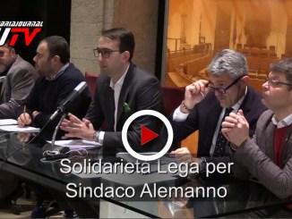 La solidarietà della Lega Umbria per sindaco di Norcia, Nicola Alemanno, il video