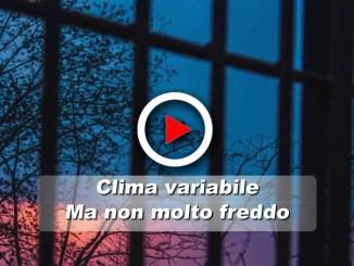 Clima incerto in Umbria, ma non fa molto freddo Qualche piovasco e venti di libeccio